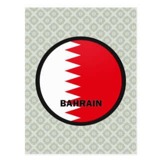 Bahrain Roundel quality Flag Postcards