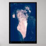 Bahrain Satellite Poster