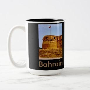 Bahrain Two-Tone Coffee Mug