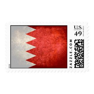 Bahraini Flag Stamp