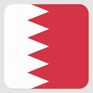 Bahraini Flag Square Stickers