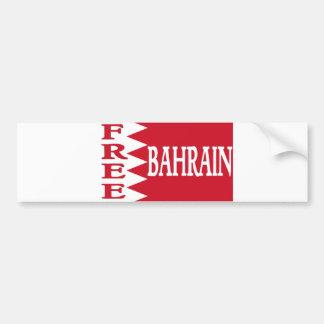 Bahrein - Bahrein libre Pegatina De Parachoque