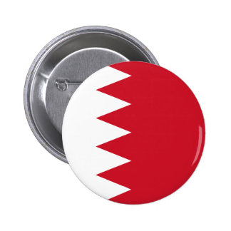 Bahrein - bandera de Bahrein Pin Redondo 5 Cm