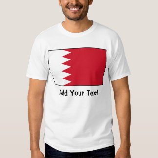 Bahrein - bandera de Bahrein Playera