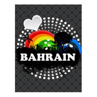 Bahrein con sabor a fruta lindo tarjetas postales