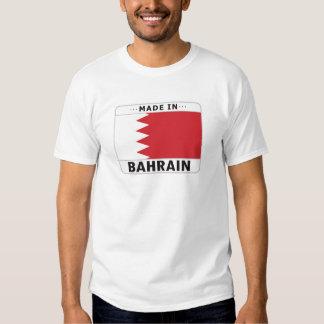 Bahrein hizo adentro camisas