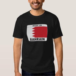 Bahrein hizo adentro playeras