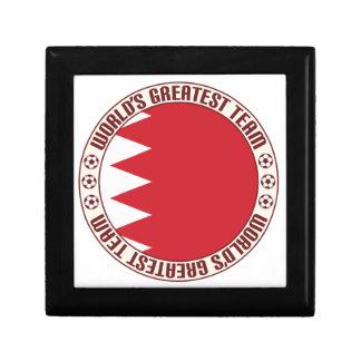 Bahrein Roundel Joyero Cuadrado Pequeño