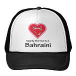 Bahreiní feliz casado gorros bordados