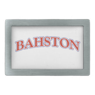 BAHSTON! BELT BUCKLE