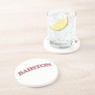 ¡BAHSTON! POSAVASOS DE ARENISCA