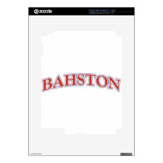 BAHSTON! SKIN FOR iPad 2
