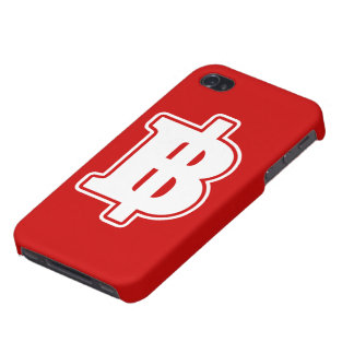 BAHT SIGN ฿ Thai Money Currency ฿ iPhone Case Covers For iPhone 4