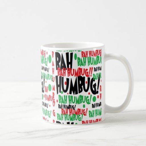 bahumbug tazas de café