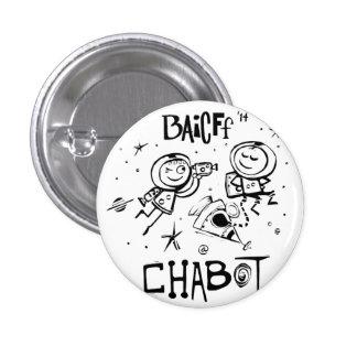 BAICFF embroma los botones del funcionario 2014 Pin Redondo De 1 Pulgada
