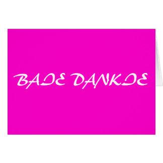 Baie Dankie Stationery Note Card