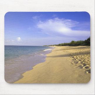 Baie Longue Long Bay beach, St. Martin, Mouse Pad