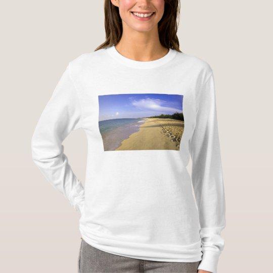Baie Longue Long Bay beach, St. Martin, T-Shirt