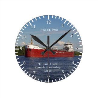 Baie St. Paul clock