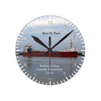 Baie St. Paul loaded clock