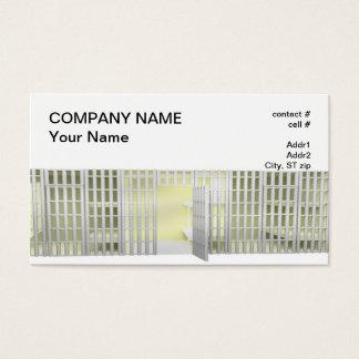 Bail bond business card