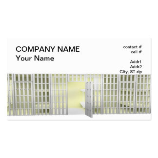 Bail bond business card template
