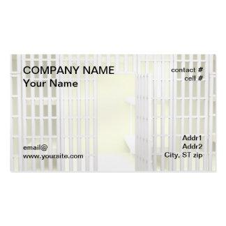 Bail bonds business card template