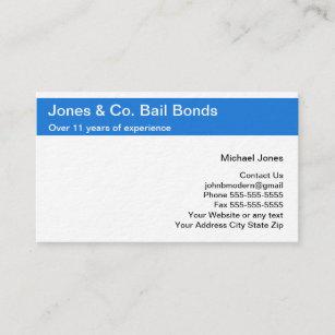 Law enforcement business cards zazzle bail bonds business cards colourmoves