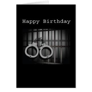 Bail Money Birthday Card