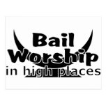 Bail Worship Greed Fest Postcard