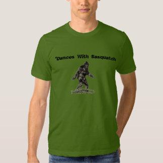 """""""Baila con la camiseta de Sasquatch"""" Polera"""