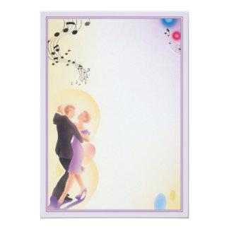 """Bailamos el © invitación 5"""" x 7"""""""