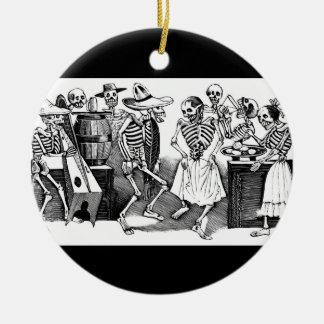 """""""Bailando el Jarabe en el otro mundo """" Ornamento De Reyes Magos"""
