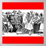 """""""Bailando el Jarabe en el otro mundo """" Posters"""