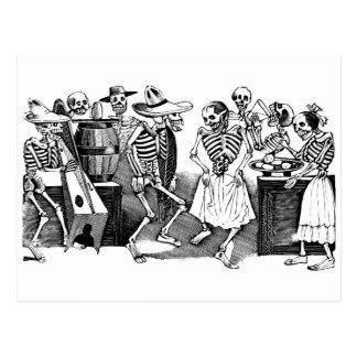 """""""Bailando el Jarabe en el otro mundo """" Tarjetas Postales"""