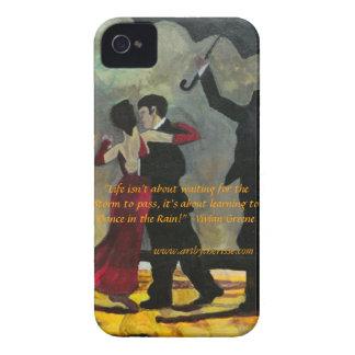 """""""Bailando en caja intrépida de Blackberry de la iPhone 4 Protector"""