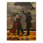 """""""Bailando en la lluvia """" Tarjetas Postales"""