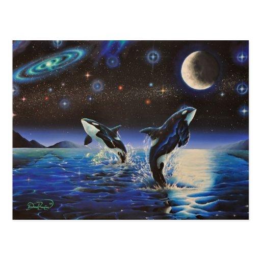 Bailando en las estrellas, postales