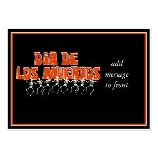 Bailando Para Dia De Los Muertos Business Card