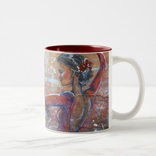 Bailaora Two-Tone Coffee Mug
