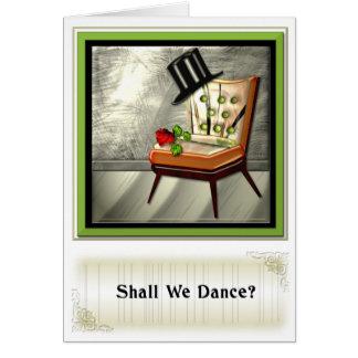¿Bailar? Tarjetas