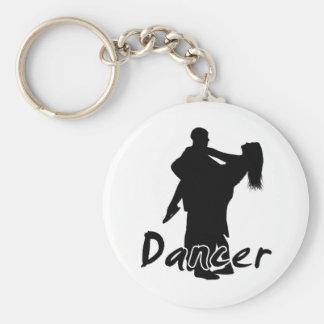 Bailarín 2 llavero redondo tipo pin