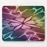 Bailarín (arco iris - torsión) alfombrilla de raton