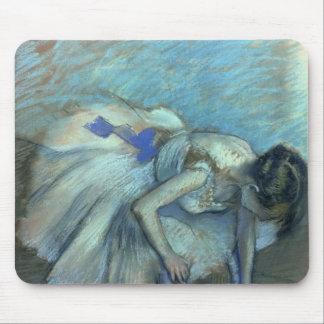 Bailarín asentado, c.1881-83 tapete de raton