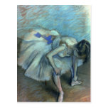 Bailarín asentado, c.1881-83 tarjetas postales