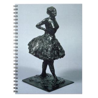 Bailarín, c.1896-1911 (bronce) libros de apuntes