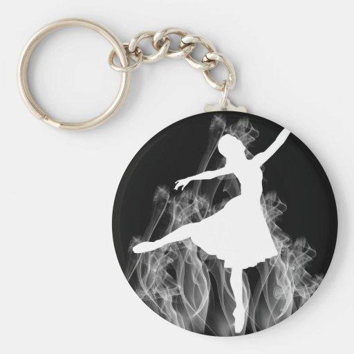 Bailarín caliente de la bailarina de Smokin Llaveros