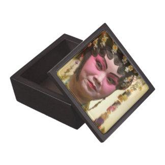 Bailarín chino de la ópera cajas de regalo de calidad