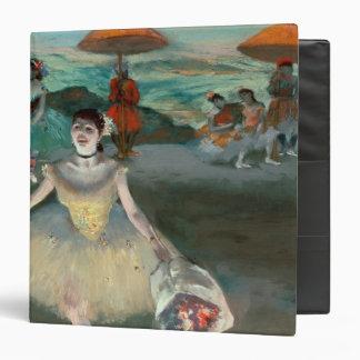 """Bailarín con el ramo, curtseying, 1877 carpeta 1 1/2"""""""
