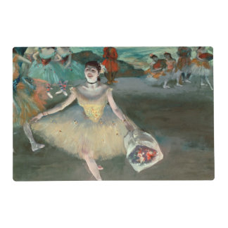 Bailarín con el ramo, curtseying, 1877